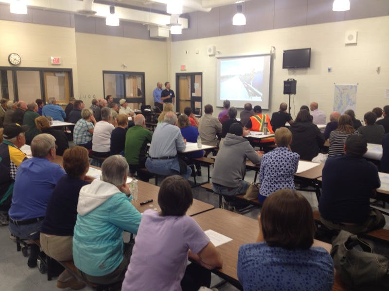 Great turnout for the first public consultation on Sept. 30
