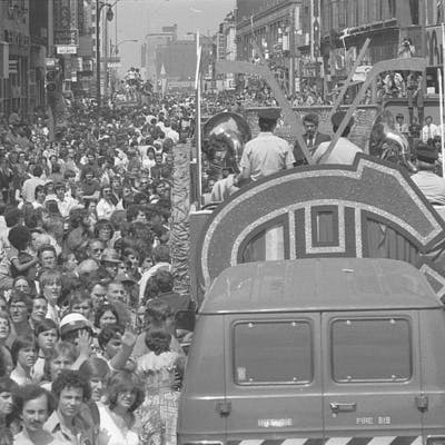 1966 Stanley Cup Parade on St. Catherine Street