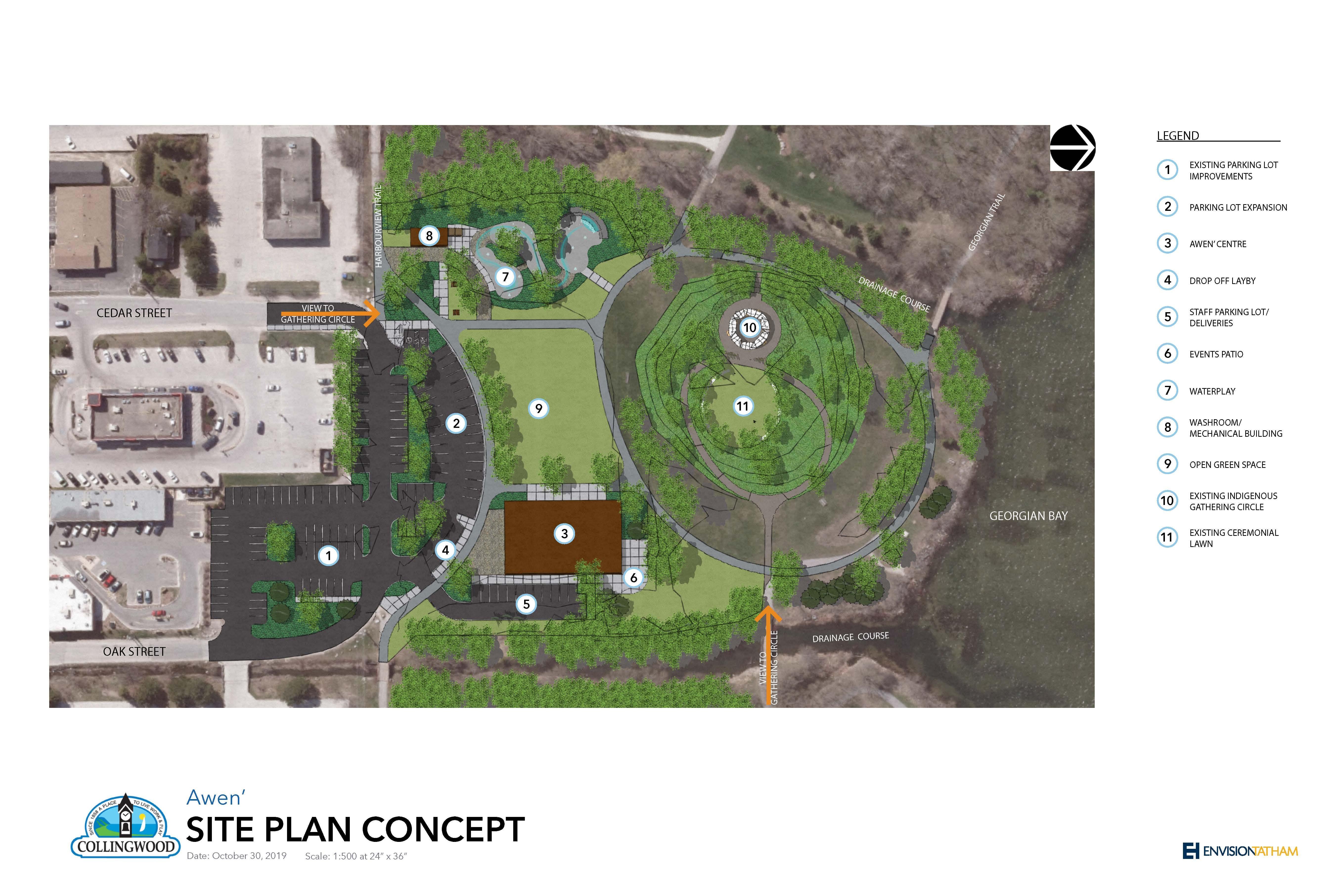 Awen Site Plan Concept