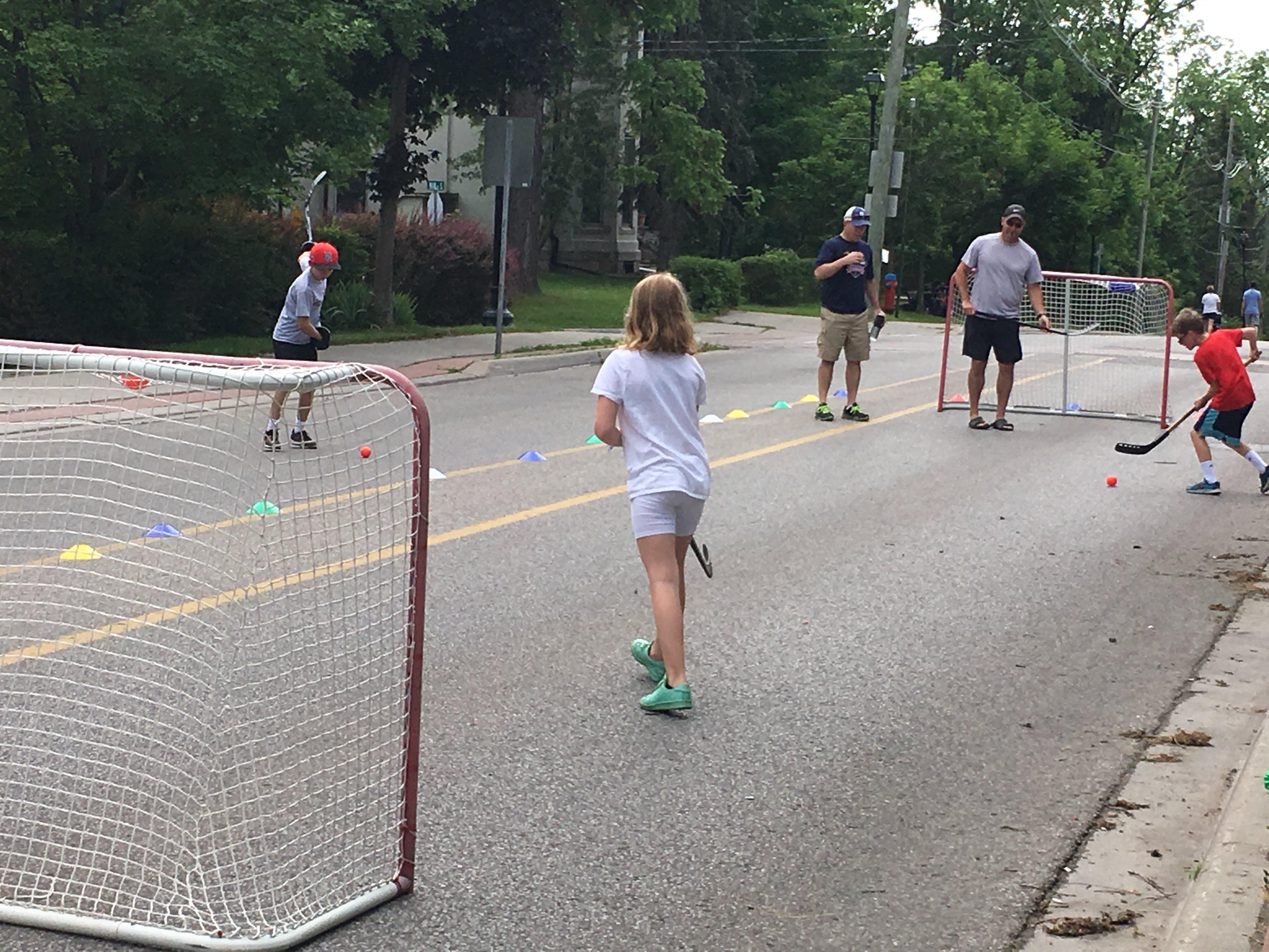 Open Streets Hockey