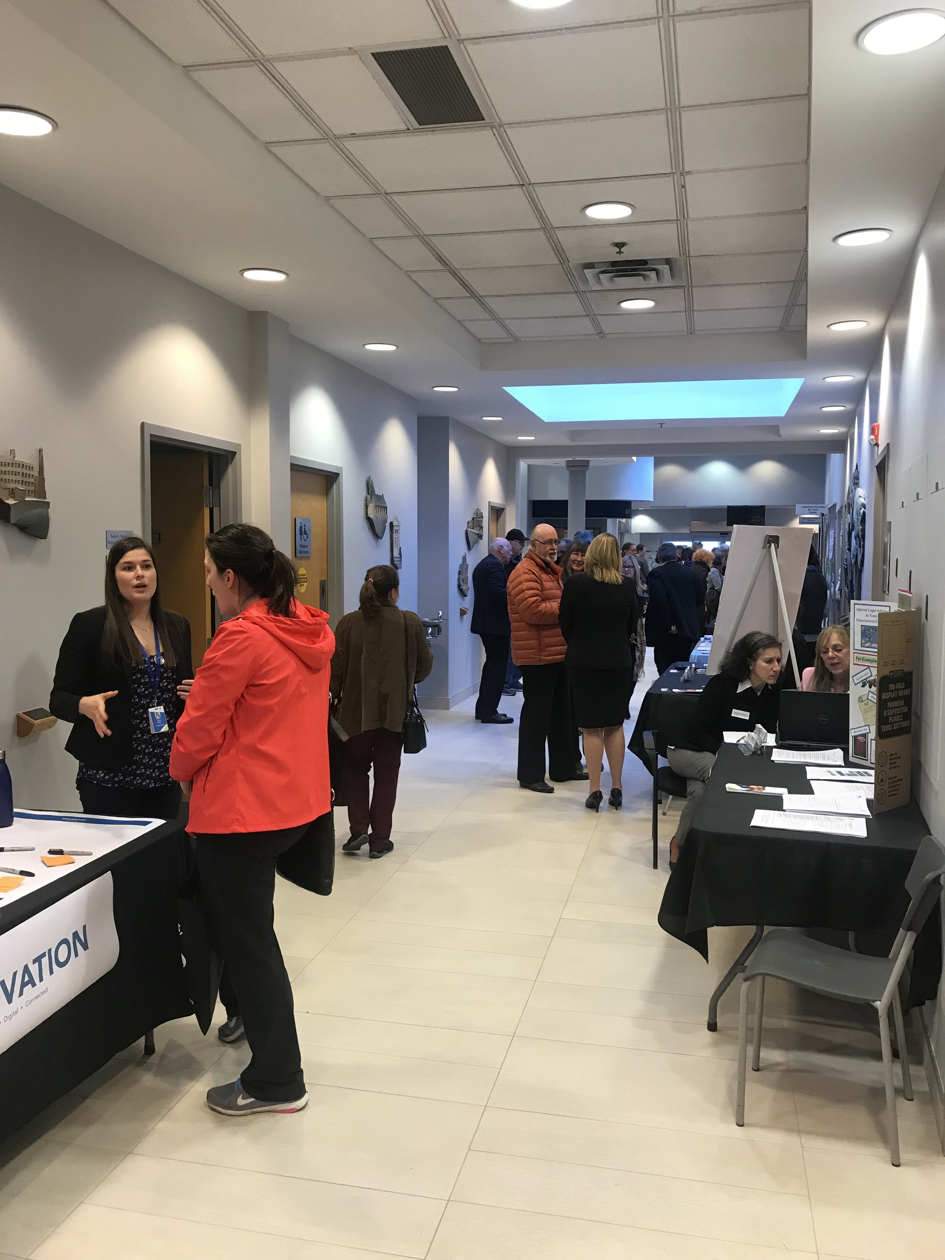Community Open House event on February 27, 2018