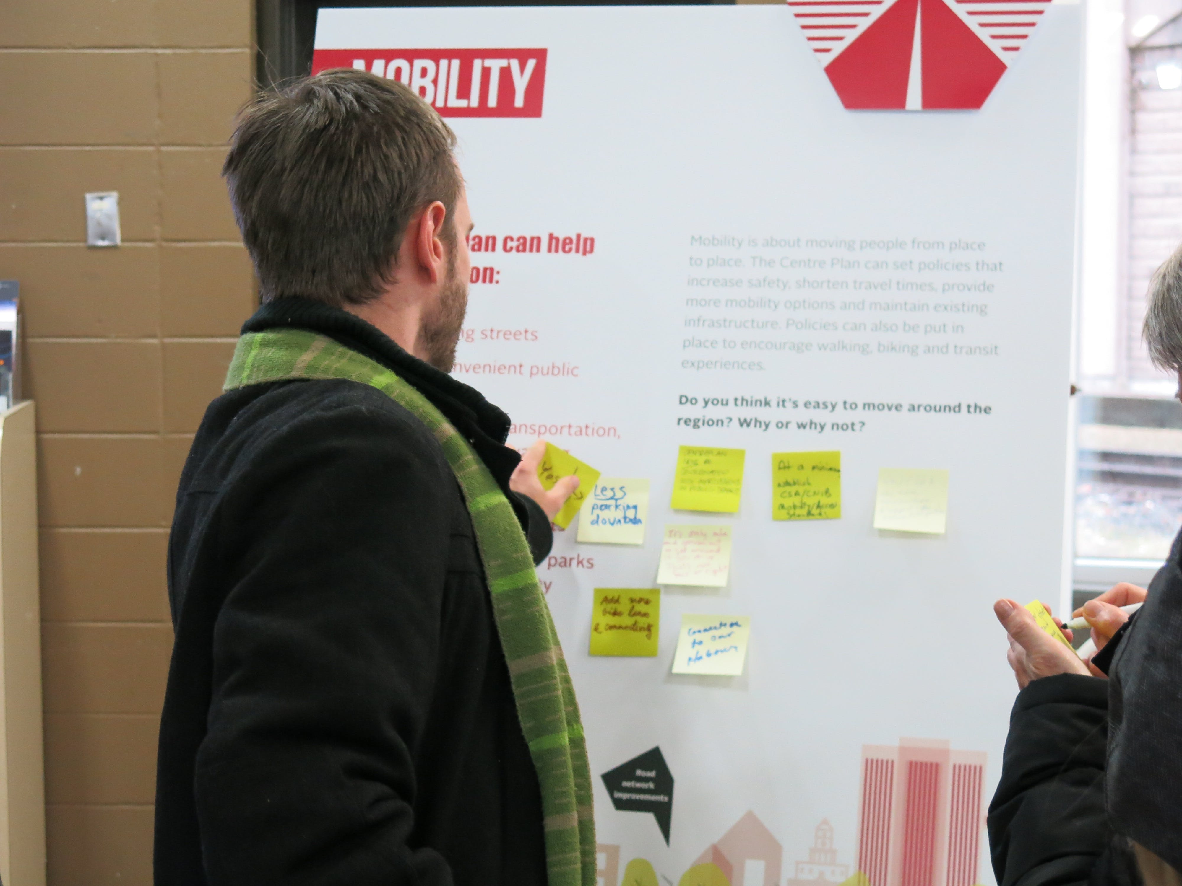 Centre Plan Launch - Mobility  Theme Board