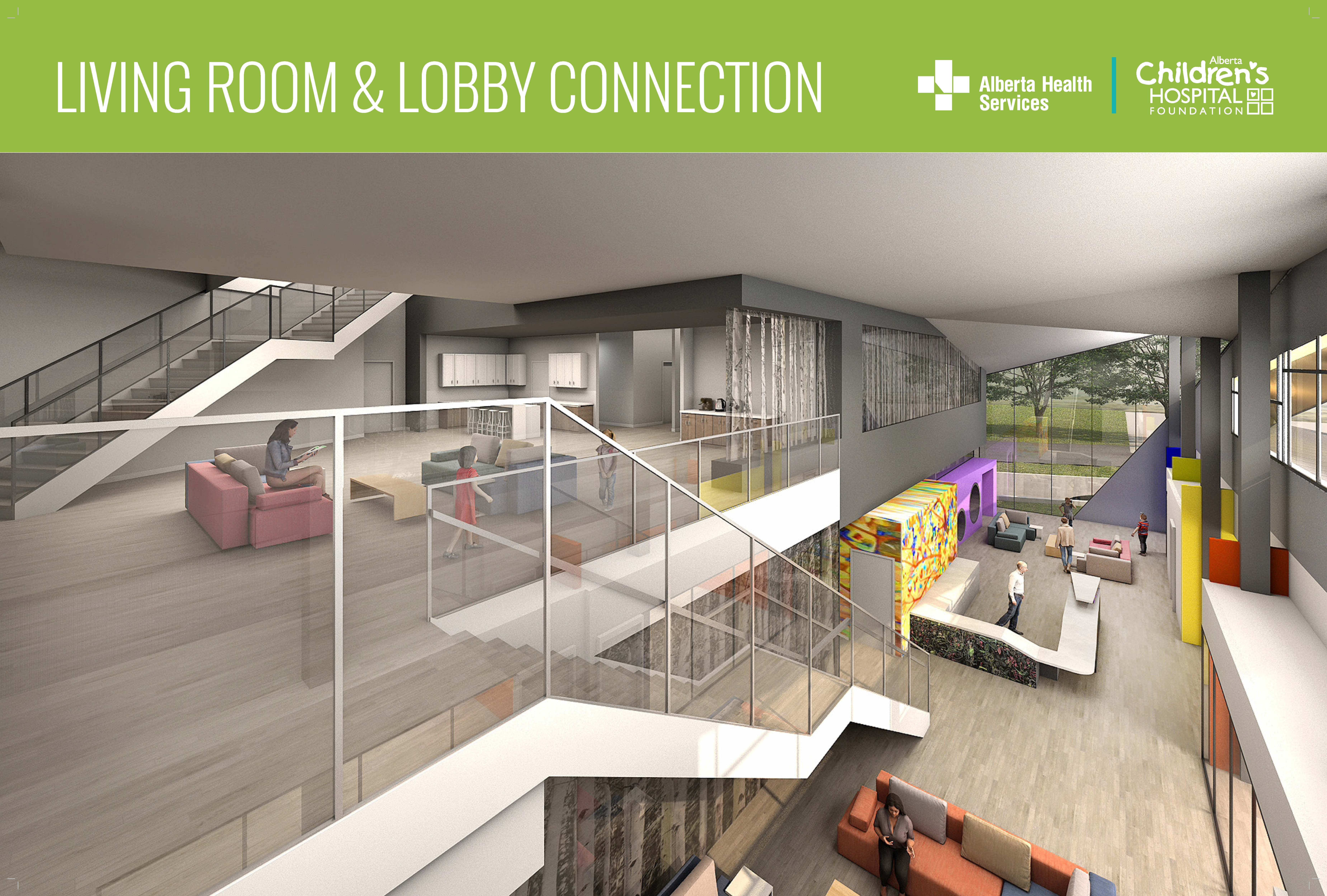 Living room and lobby connection