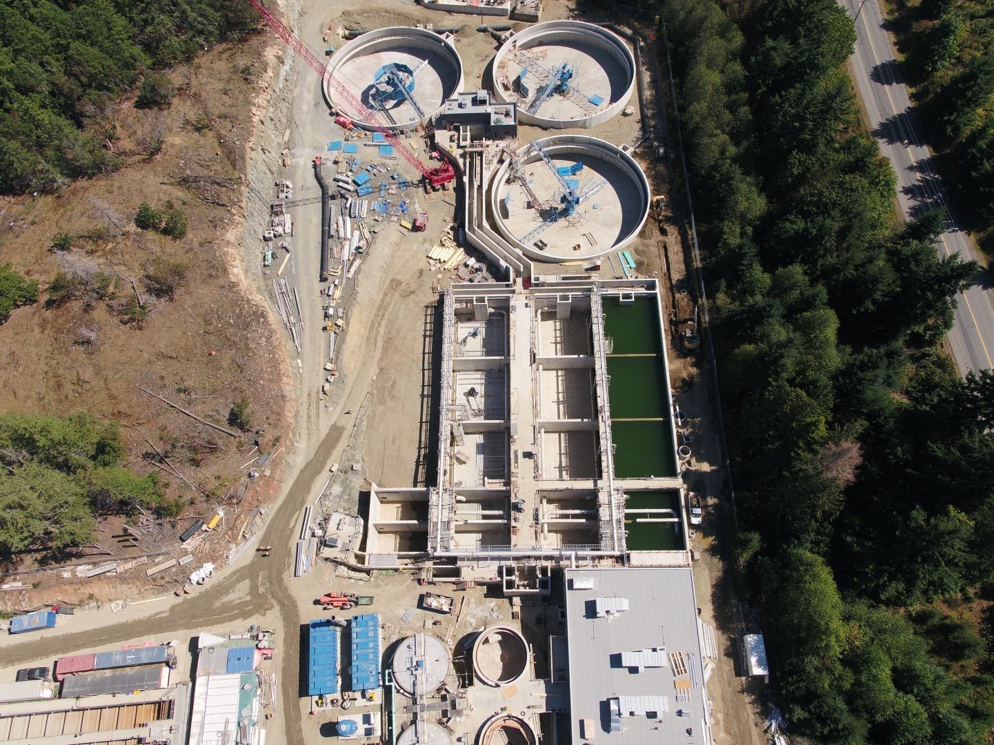 Bioreactors and Clarifiers