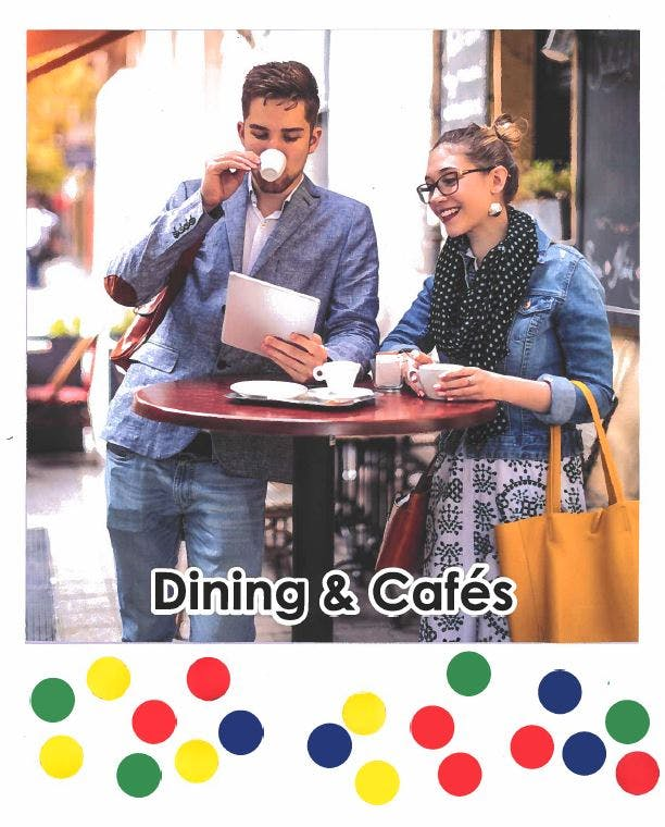 Dining & Cafes - 19 Votes