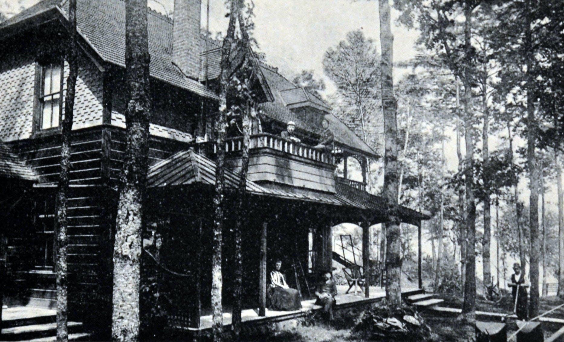 Buenavista Cottage, Roper Residence, circa 1900