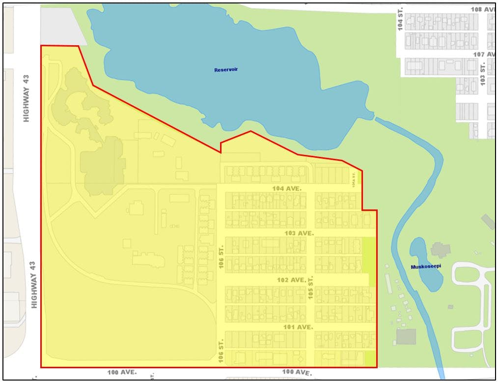 Area Redevelopment Plan Boundary