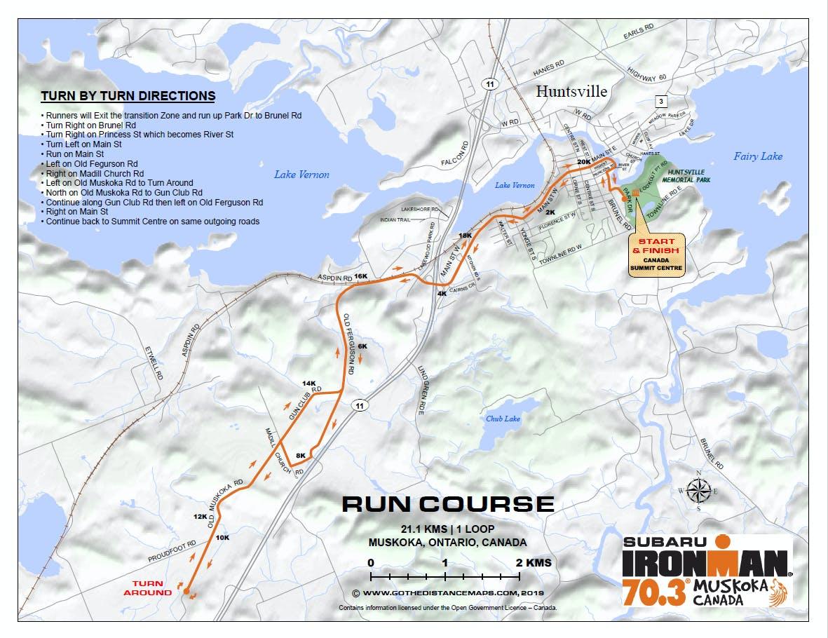 PROPOSED Option - Same as 2019 Muskoka Run