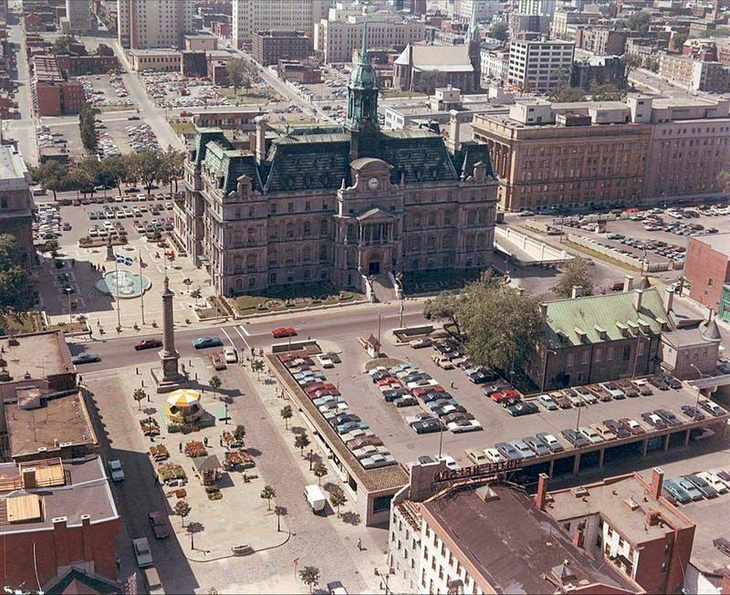Le quartier en 1969  - Ville de Montréal