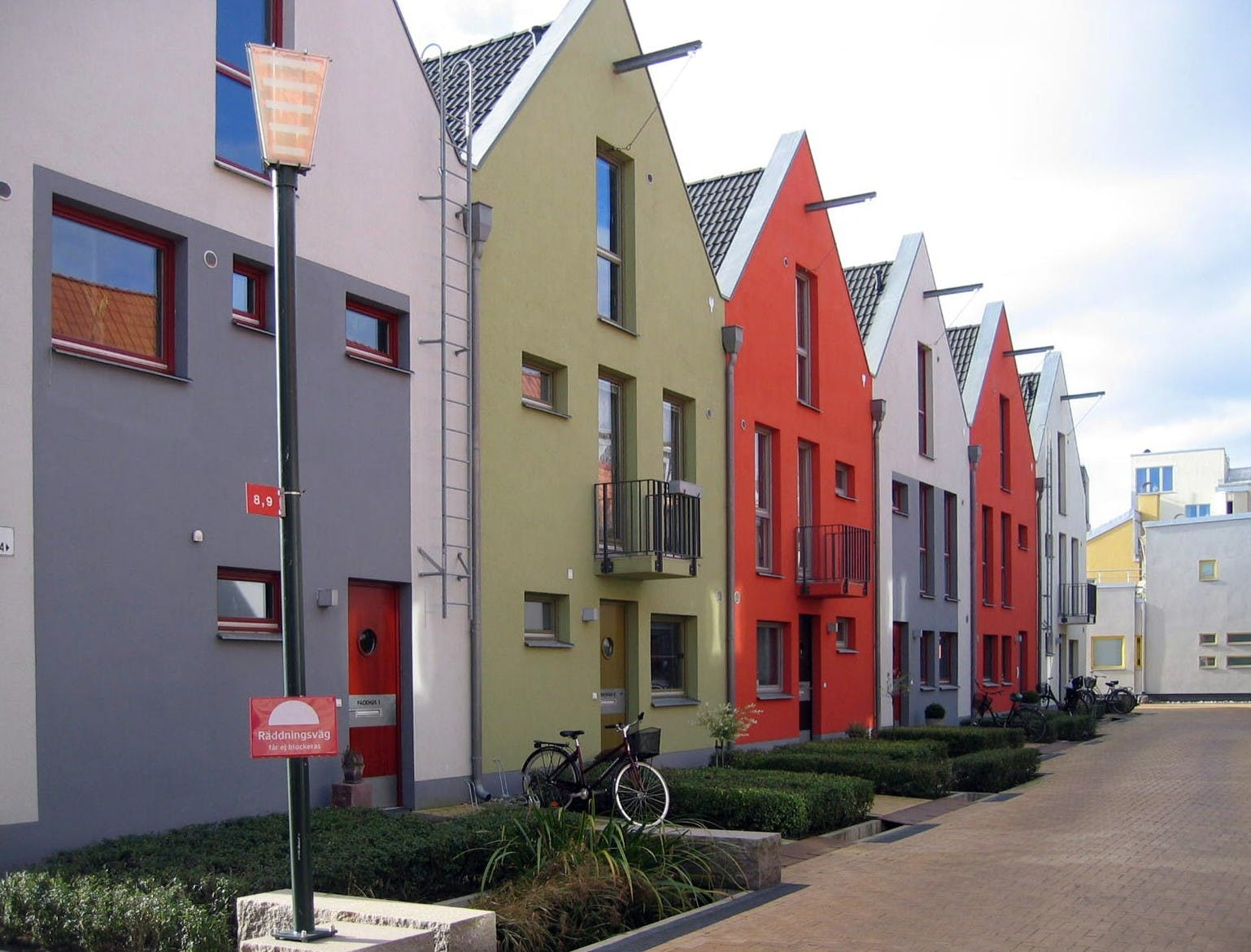 Creativity in Design - Townhouses - example 1