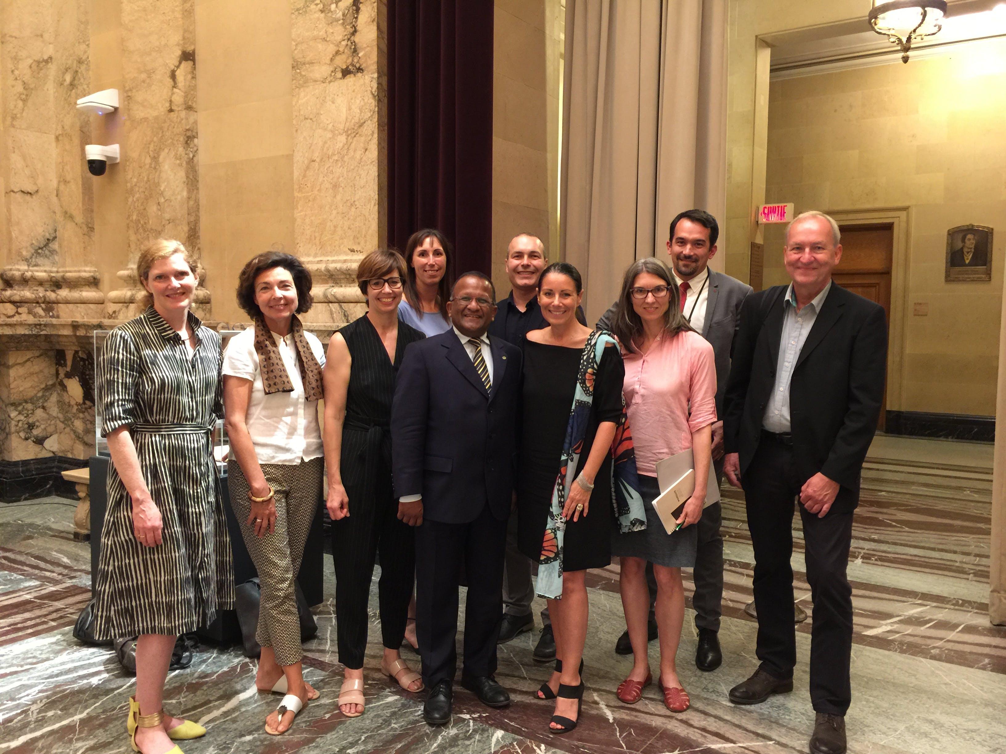 Déclaration d'appui de la Ville de Montréal pour une politique québécoise de l'architecture