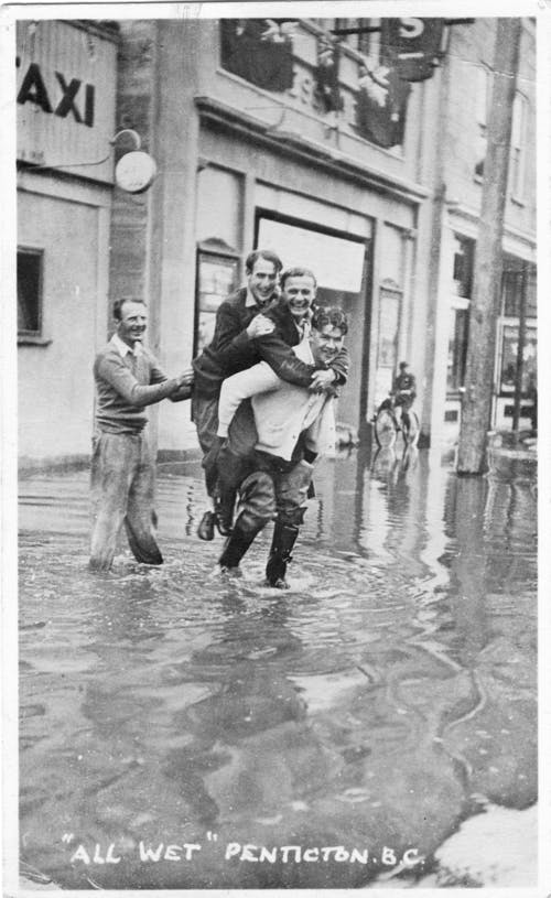 Historic photo of creek flooding #1