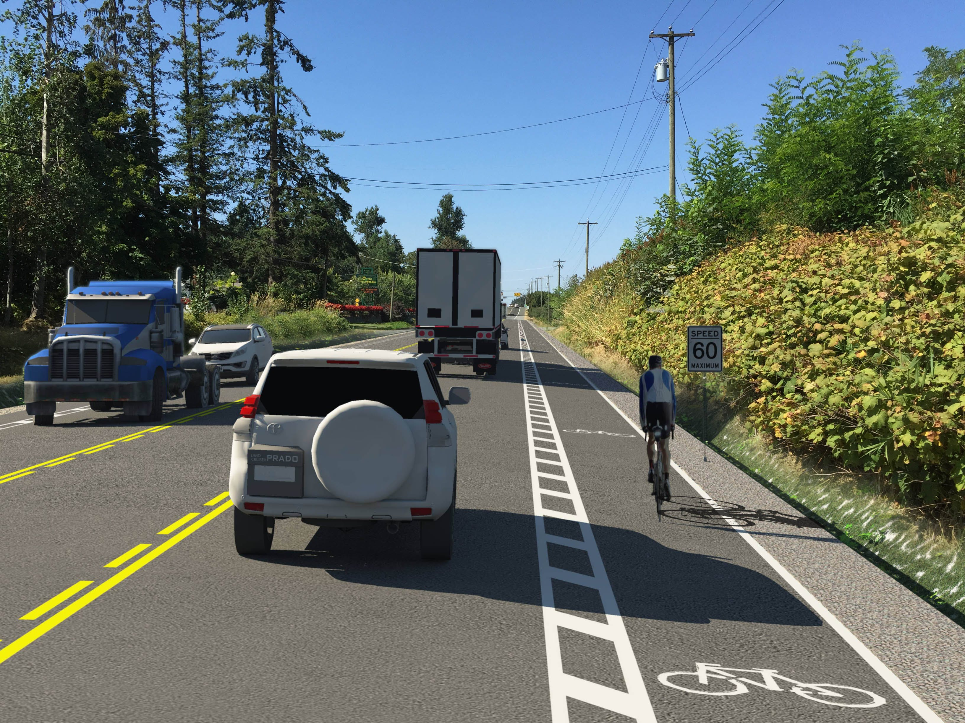 Fraser Highway Improvement Rendering