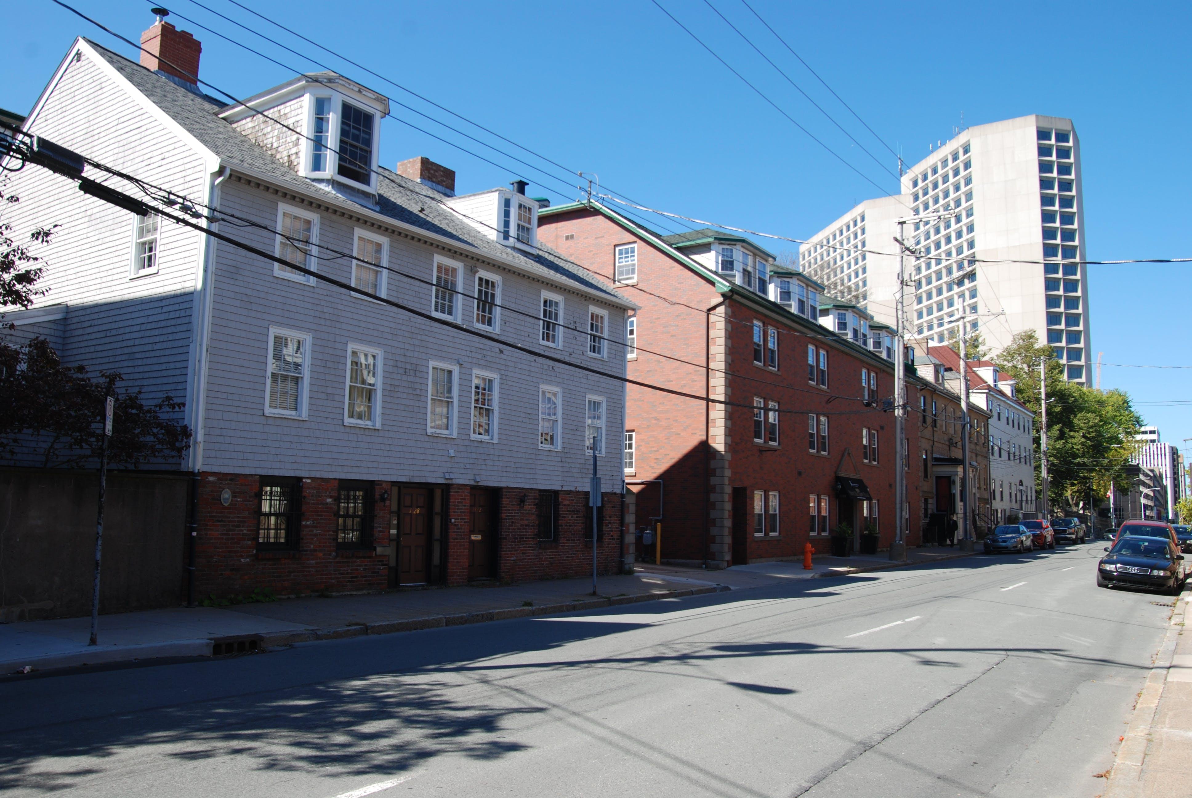 Alexander McLean House along Hollis Street