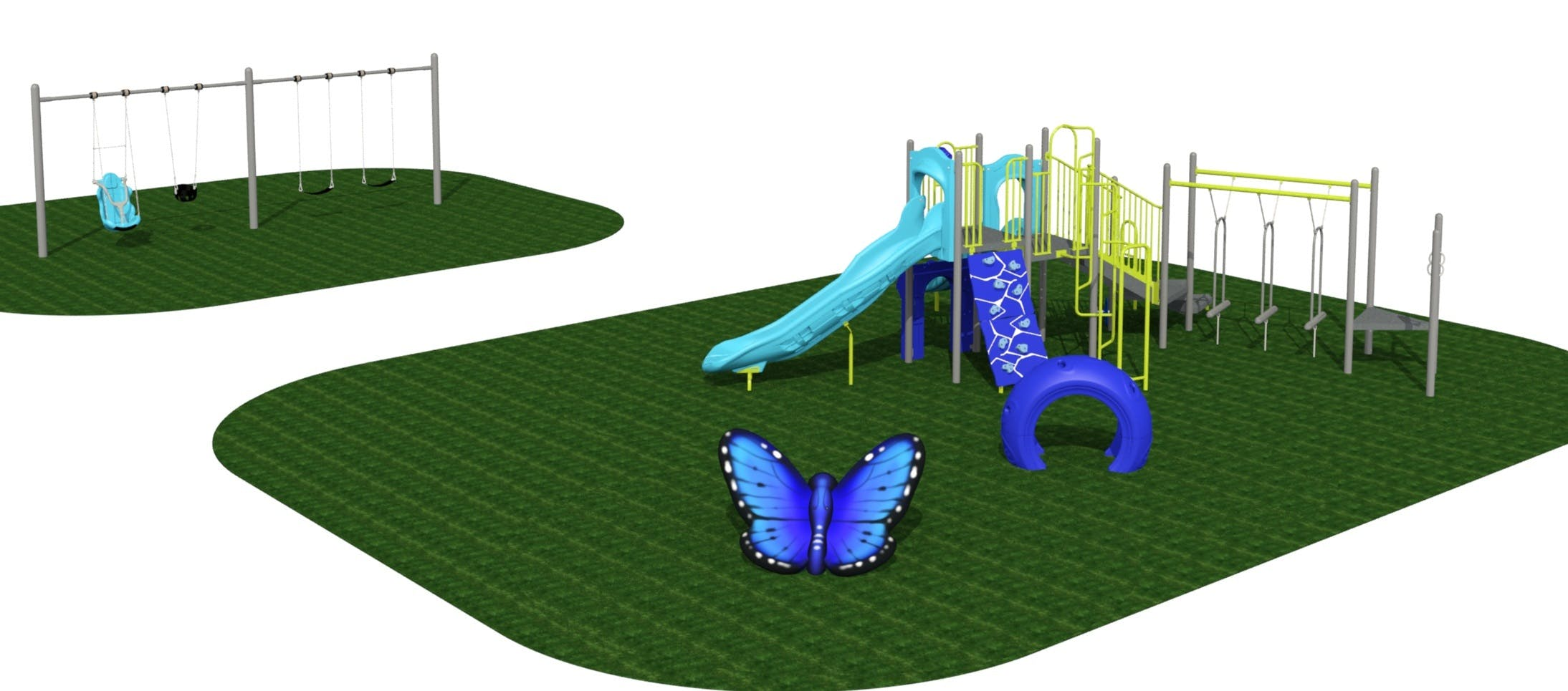 Althea Park Playground Rendering