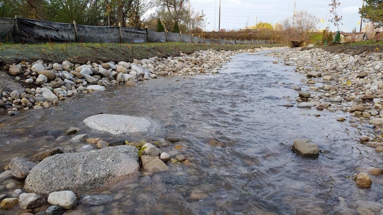 Forwell Creek - stormwater infrastructure