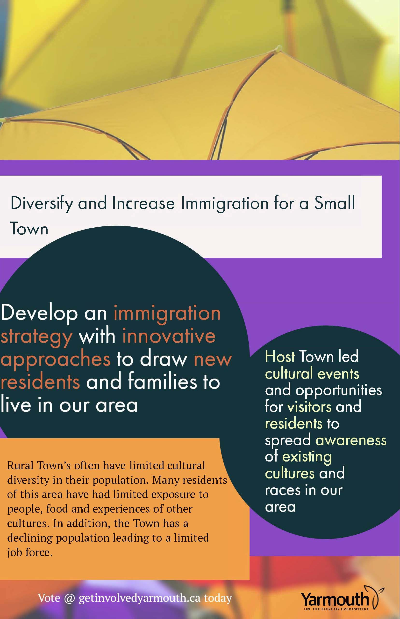 Smart City Poster -Diversity and Immigration