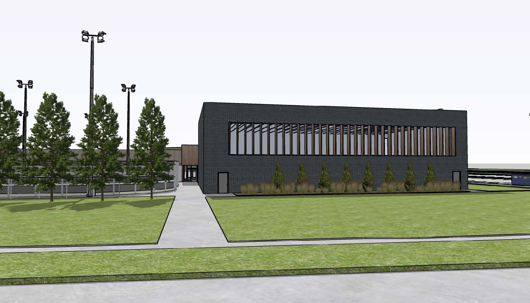 Tyndall Park Community Centre Rendering #4