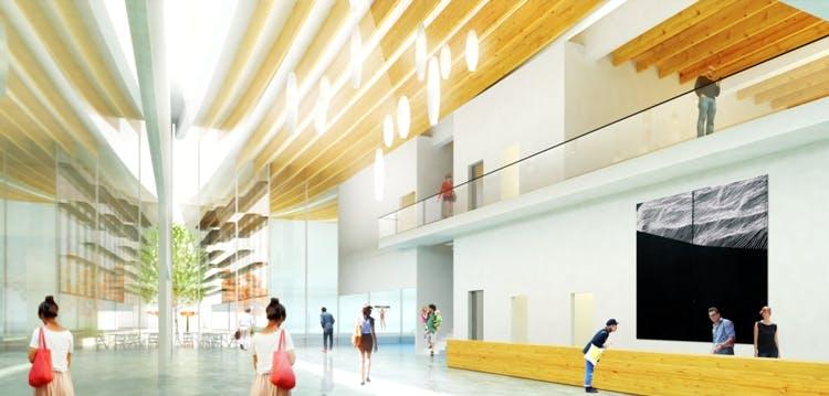Minoru Complex rendering 1