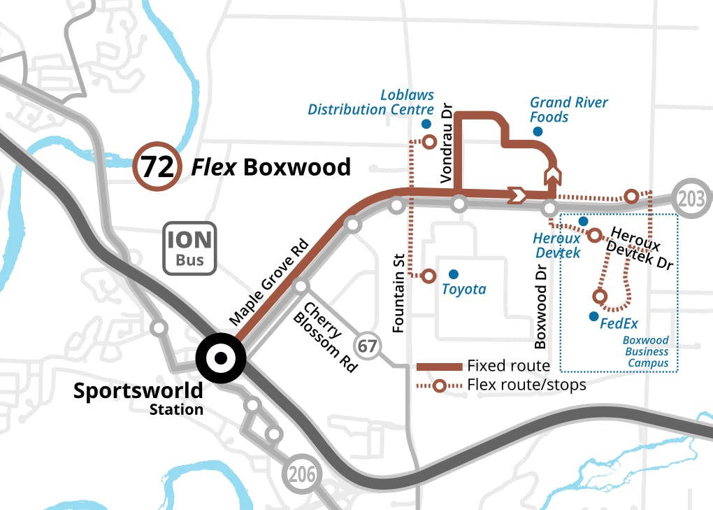 Route 72 Flex Boxwood