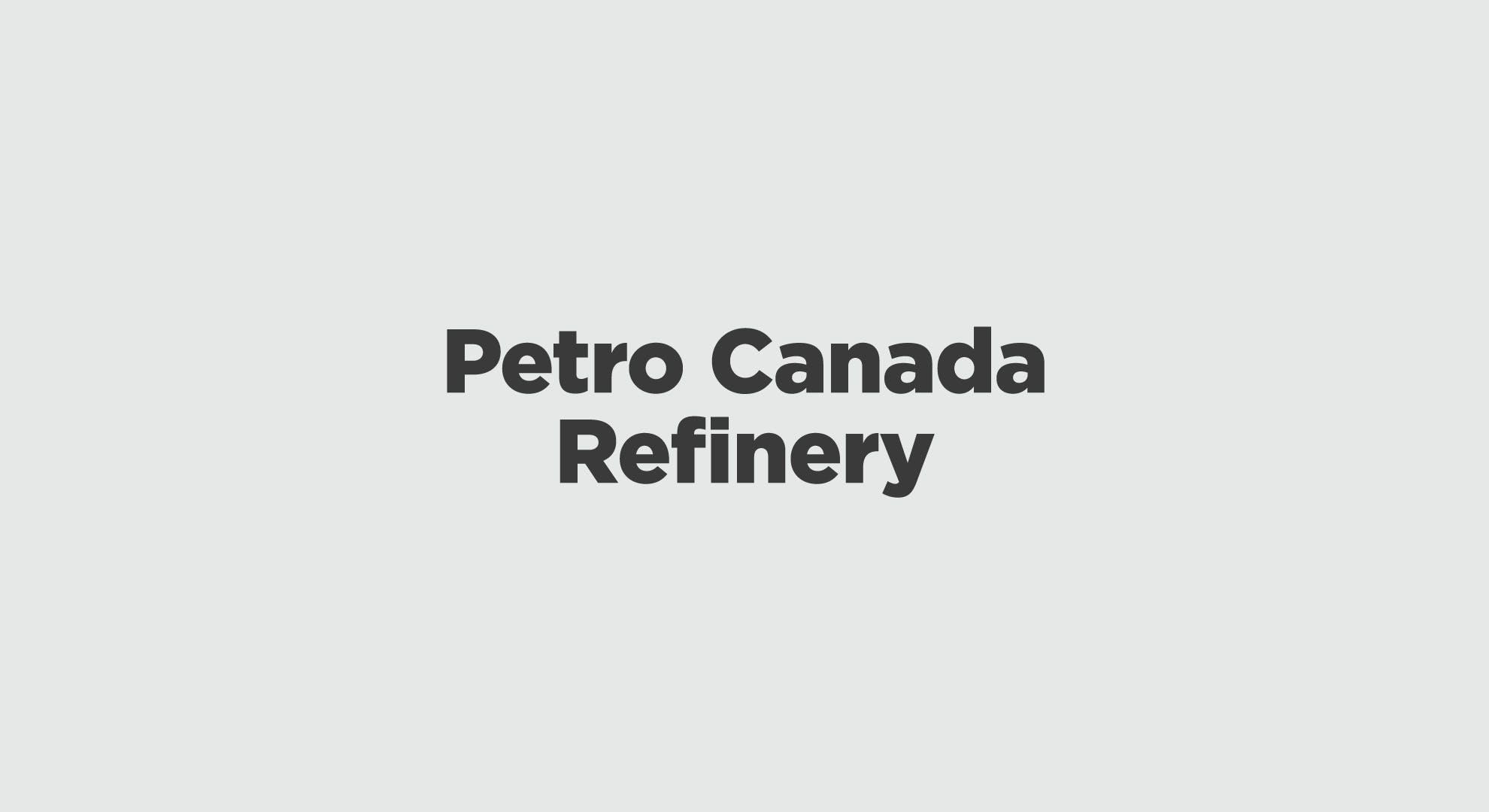 Petro Canada Refinery Graphic