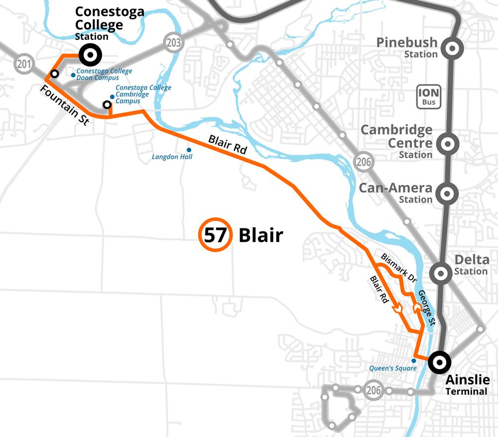 Route 57 Blair