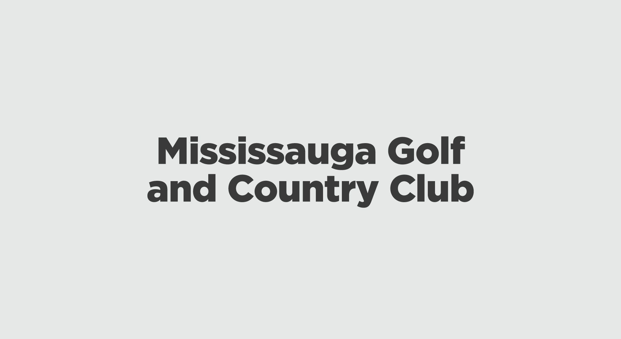 Mississauga Golf And Country Club Graphic