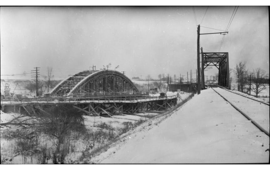 1918 Bridge Over Etobicoke Creek Lac 3327590