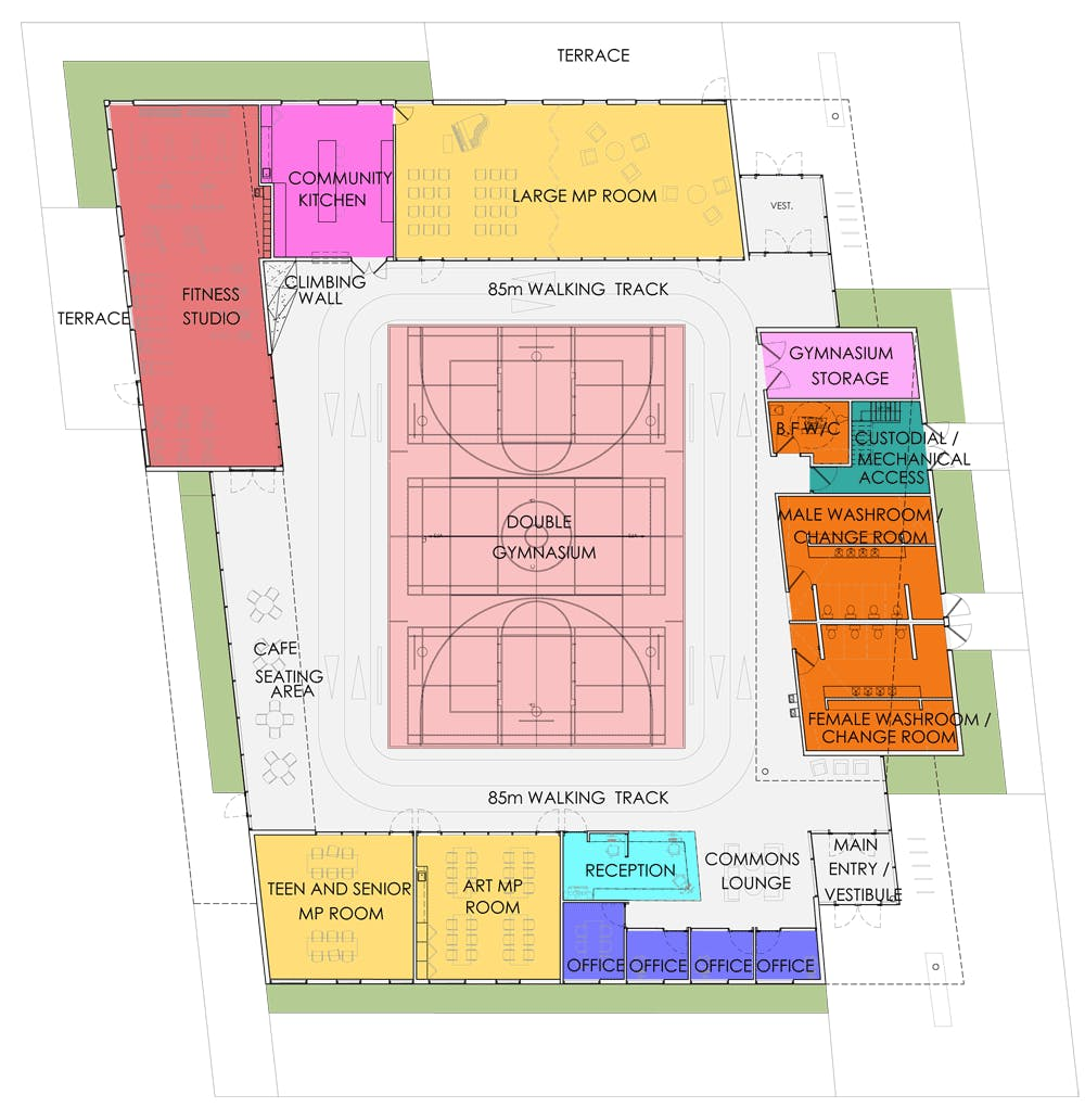 Option B - Floorplan