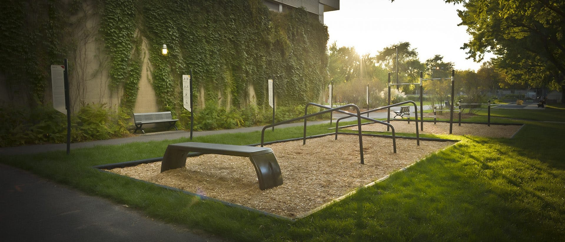 Outdoor Fitness Station/Circuit