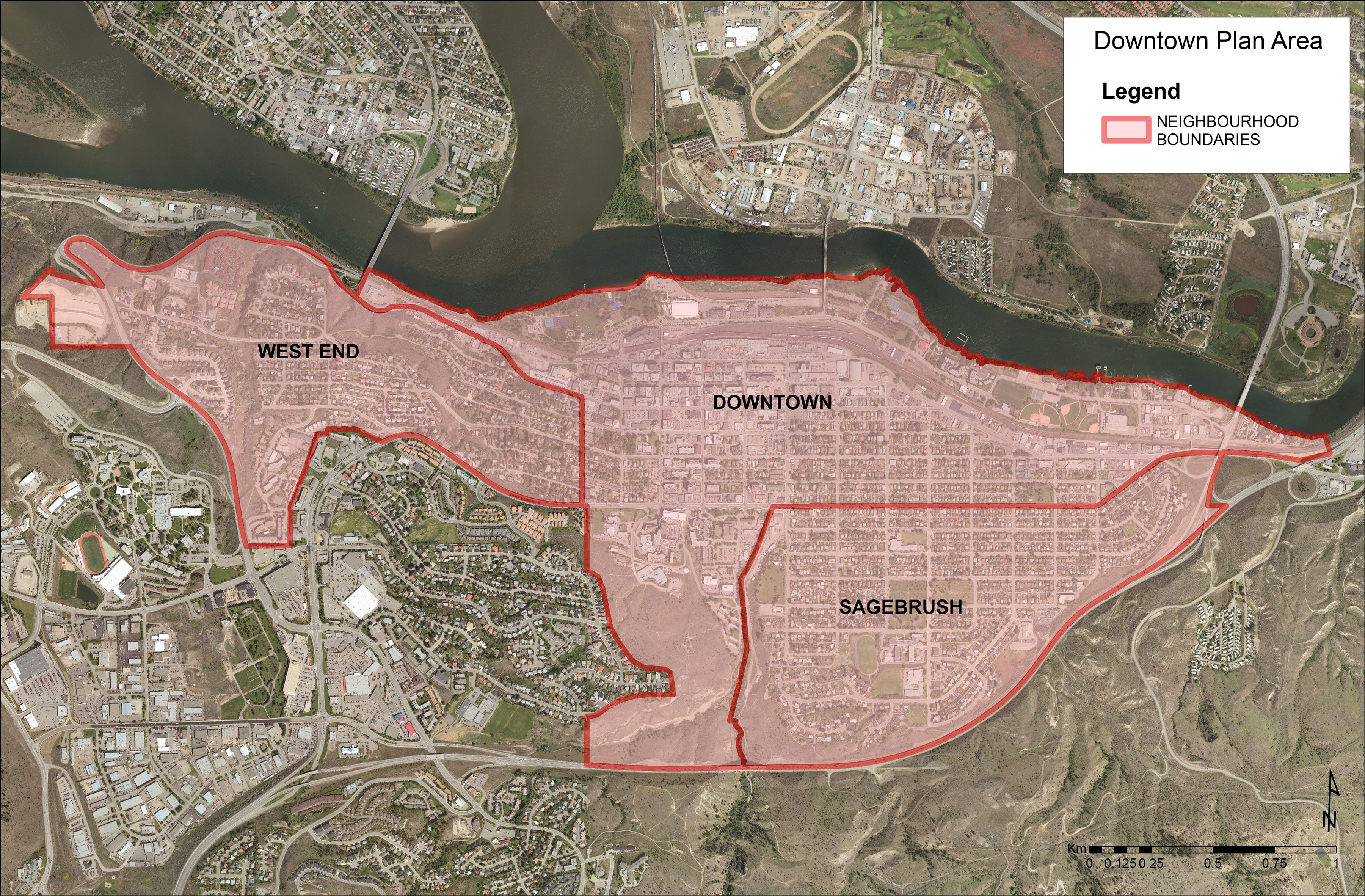 Downtown Plan Area Map