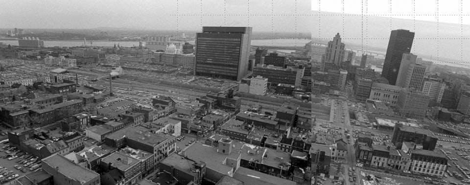 Le quartier en 1977 - Ville de Montréal