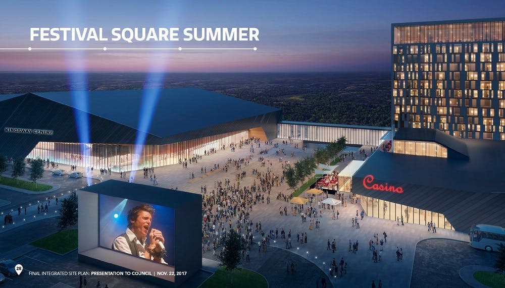 Festival Square Summer Renderign