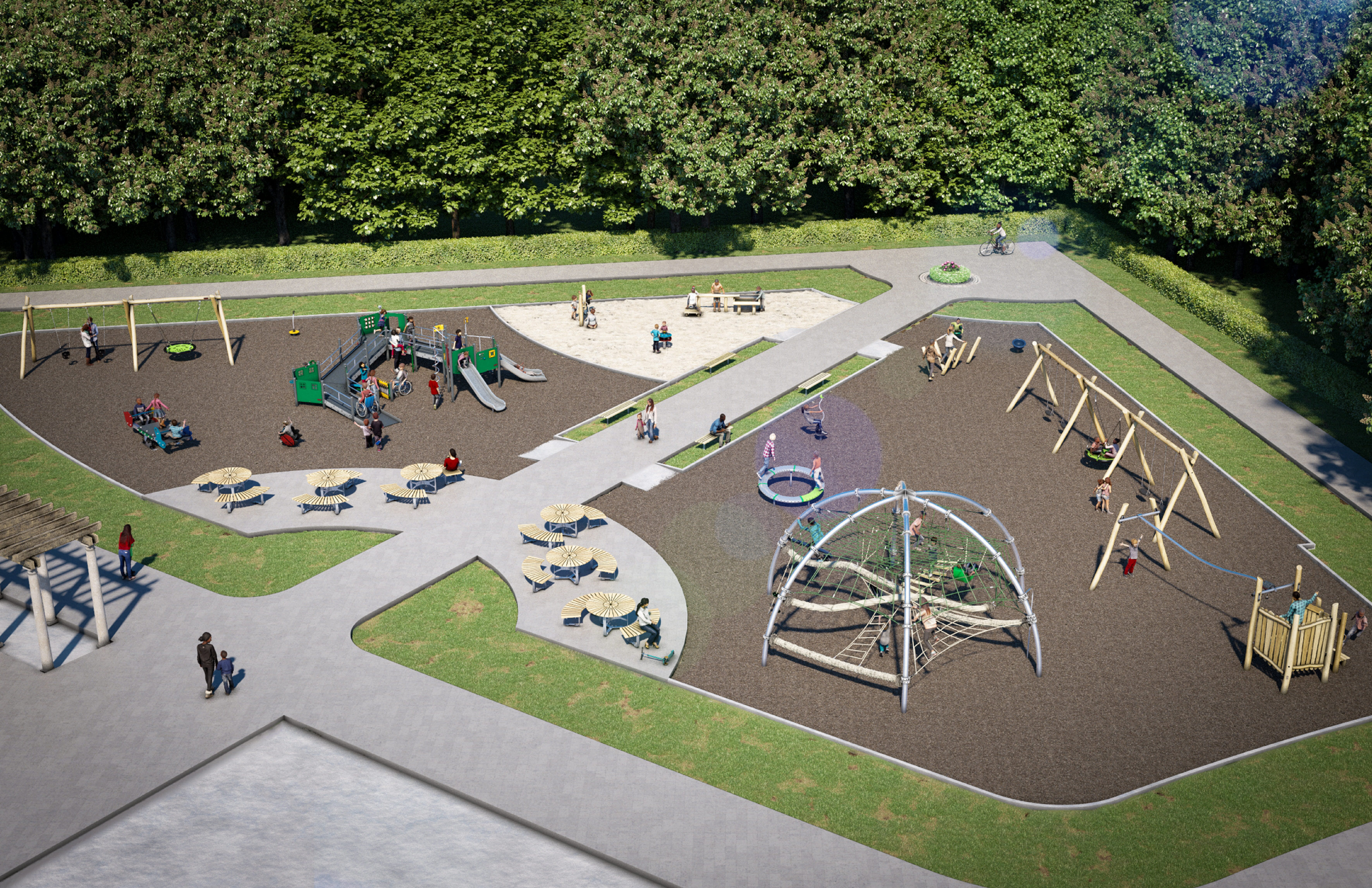 Playground A: All Play Areas