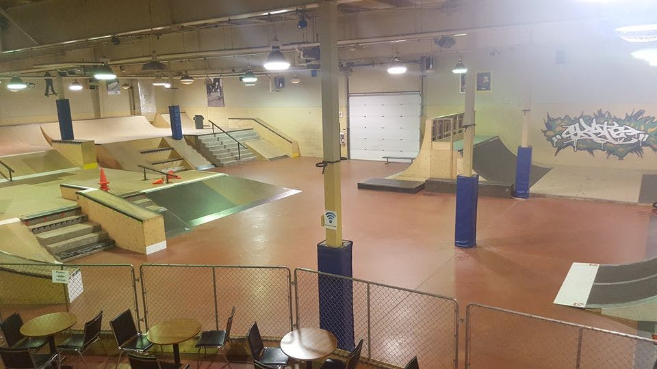 Riverview indoor skate park