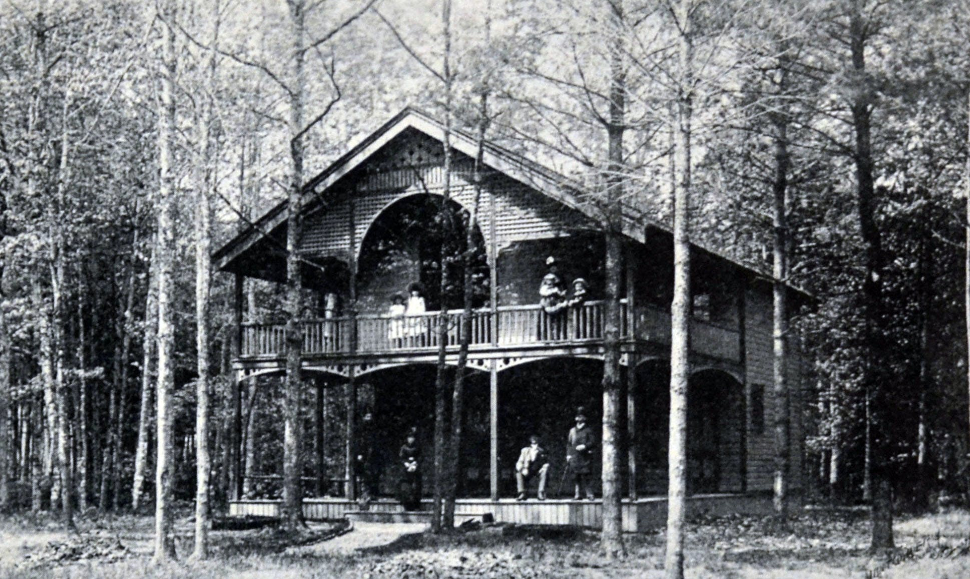Massawippie, the Henderson Residence, circa 1900