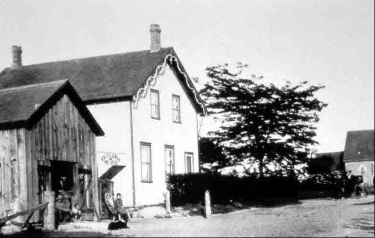 1910 Britannia Schoolhouse Hm Resources Mississaugas History Lost Villages Britannia