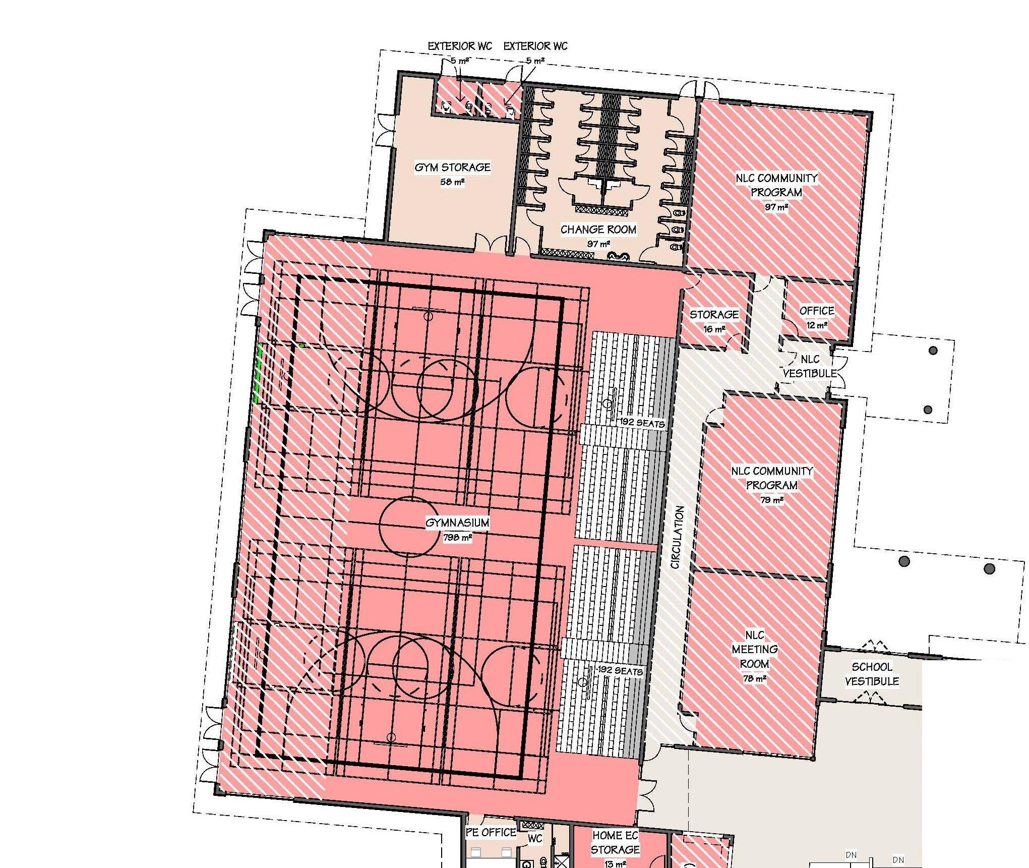 Neighbourhood Learning Centre Floor Plan