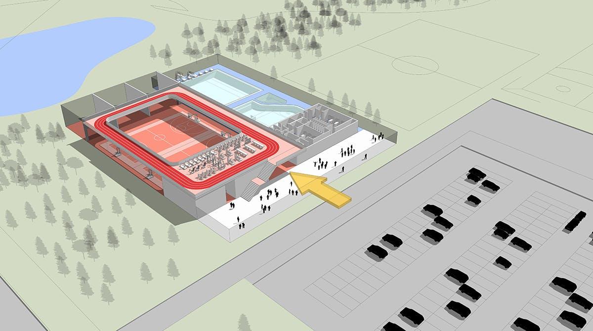 Split Facility - New Building