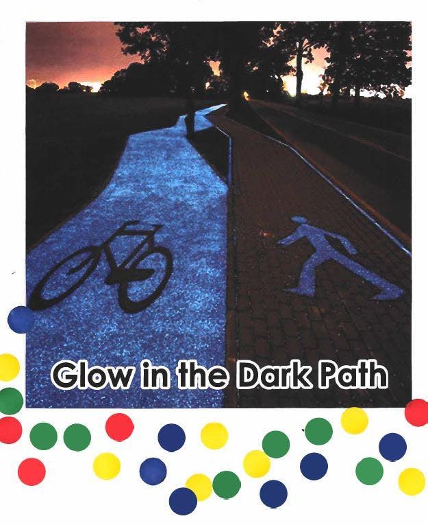 Glow in the Dark Path - 25 Votes