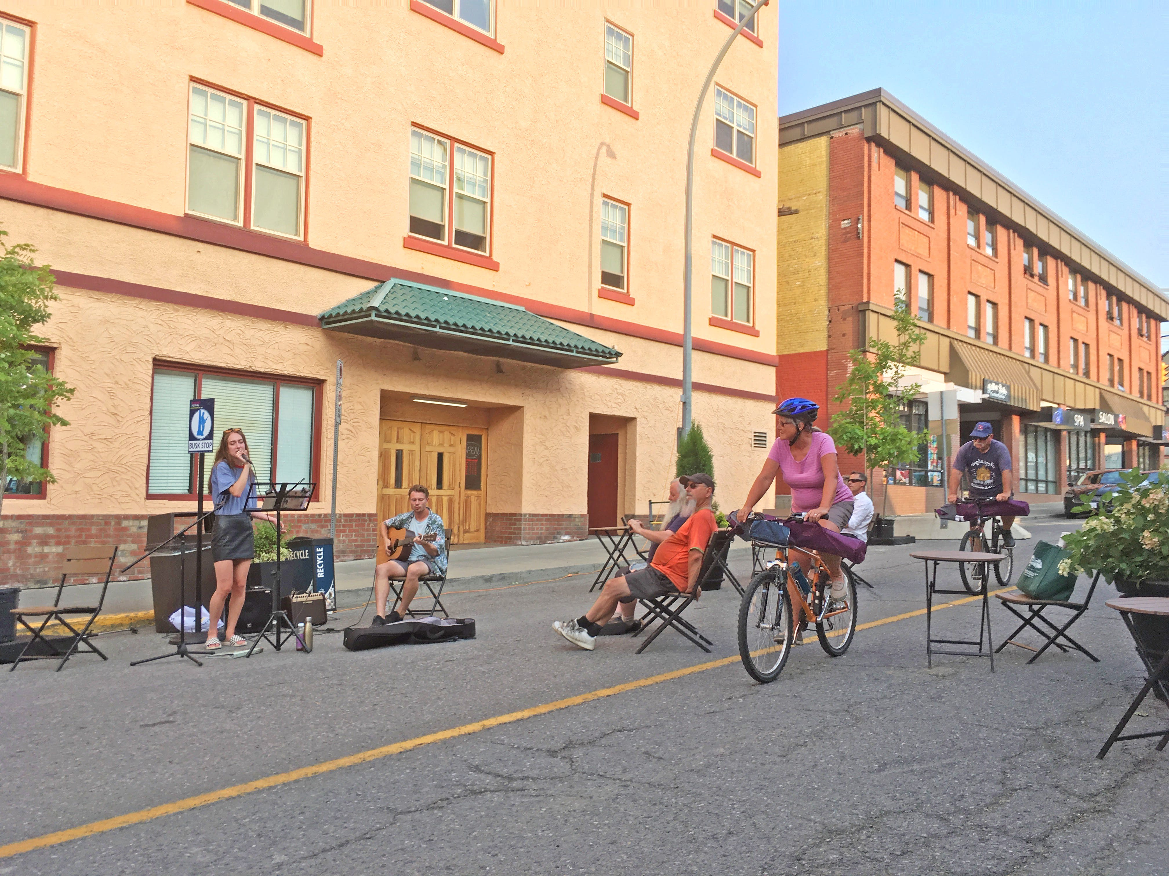 4th Ave Plaza Pilot Project • July 26 - Aug 12, 2018