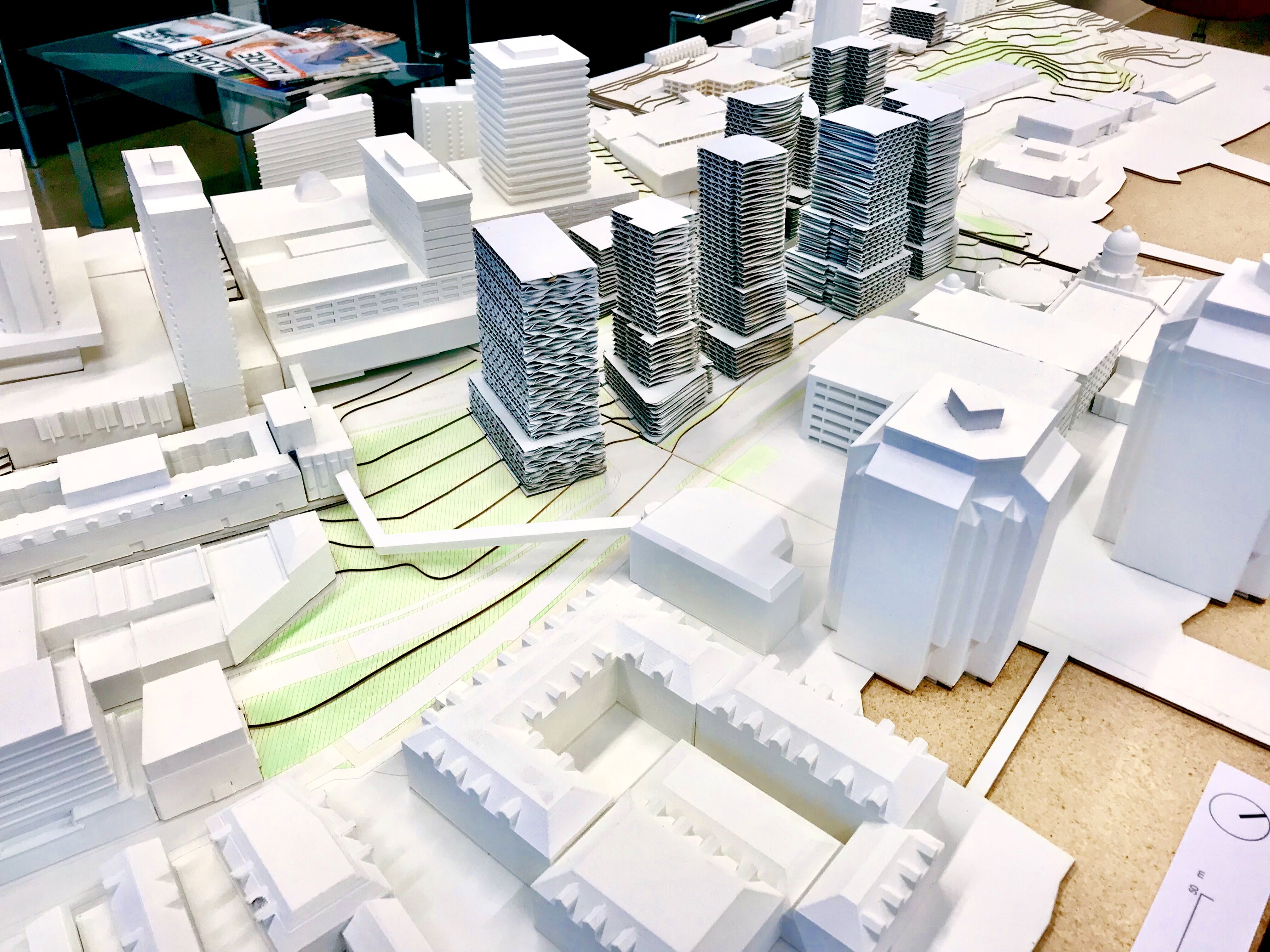 Model of Cogswell District
