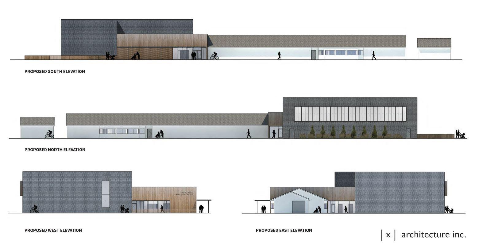 Tyndall Park Community Centre Rendering #3