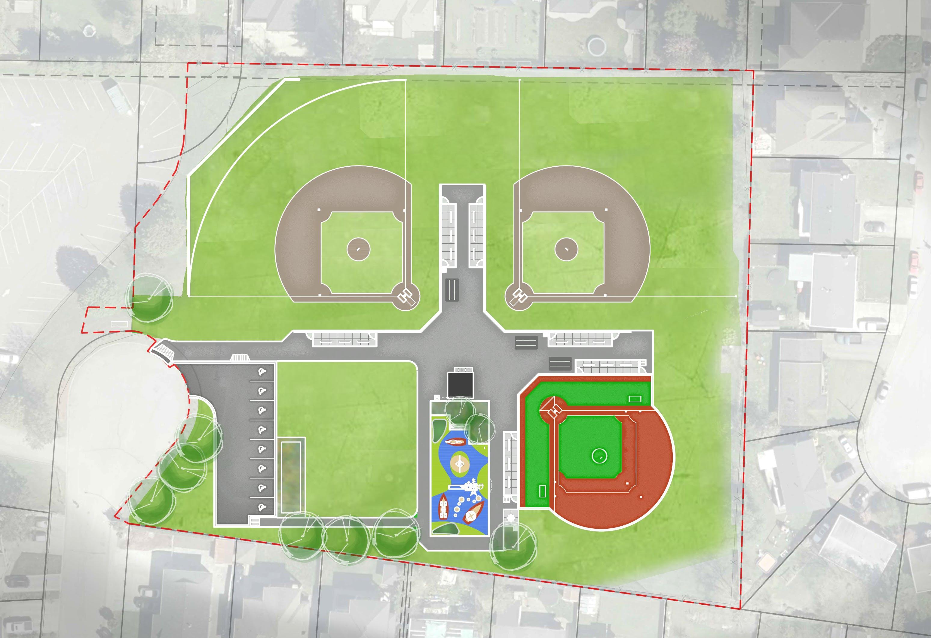 Grant Park Site Plan