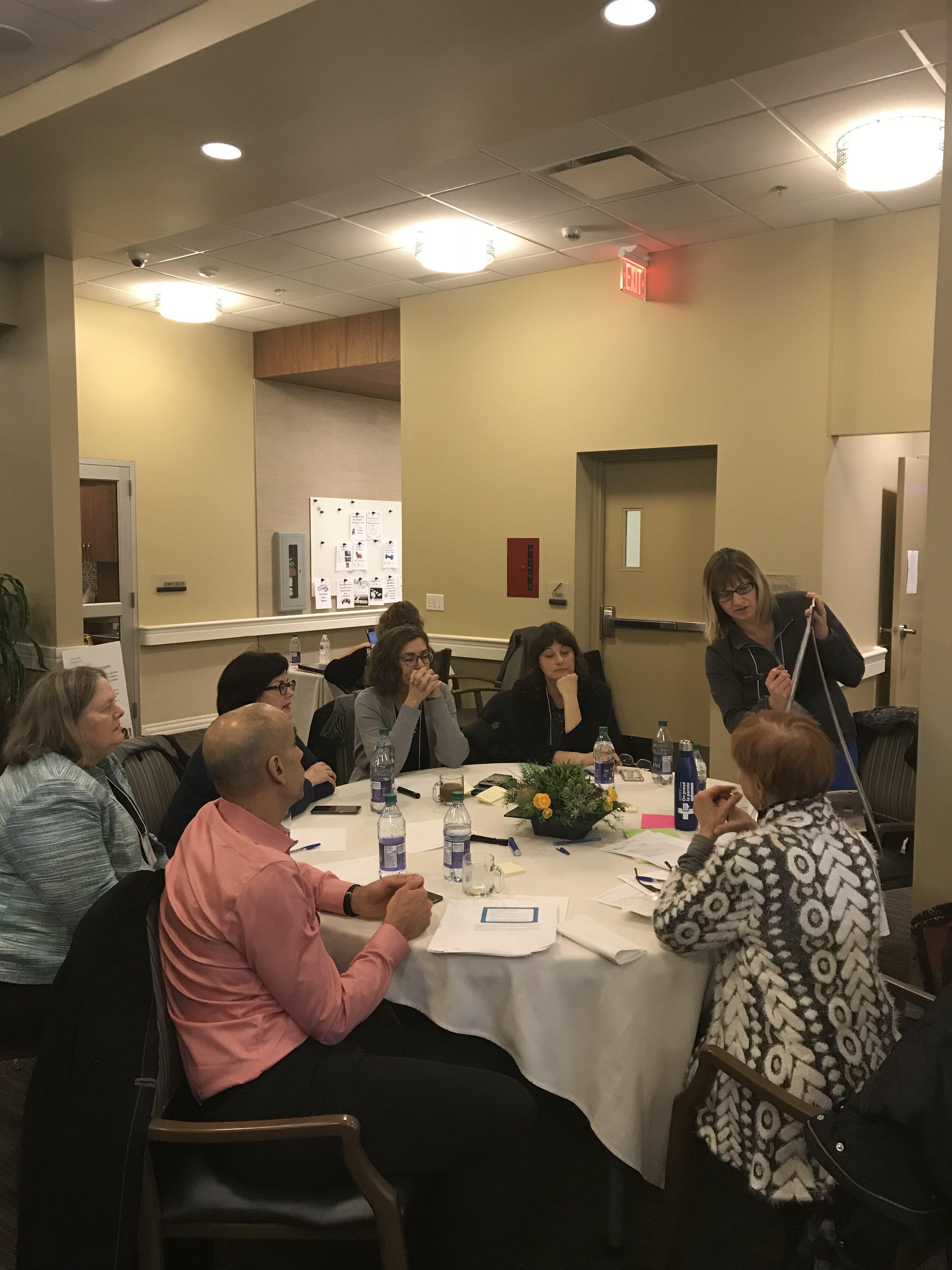 November 14, 2018: Edmonton Community Conversation session