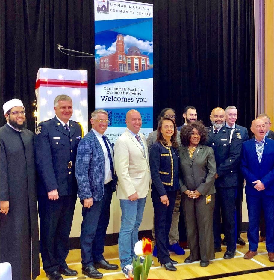 Celebrating diversity, inclusion, caring and community this evening at Ramadan Iftar Dinner at the Ummah Masjid. Coming together to support each other and the communities we serve.
