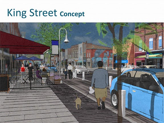 King St - Concept