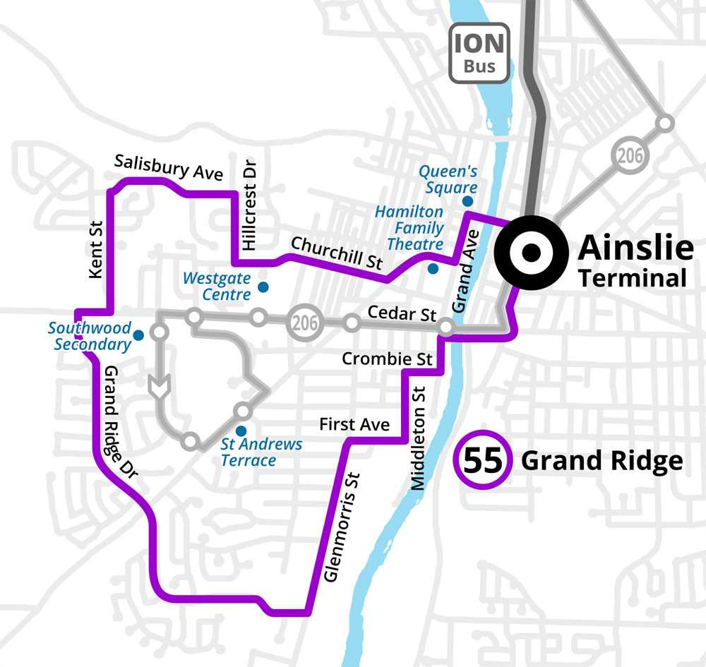 Route 55 Grand Ridge
