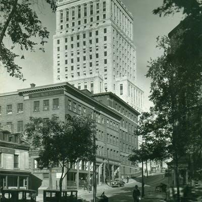 Beaver Hall Hill - Montreal Standard,1931