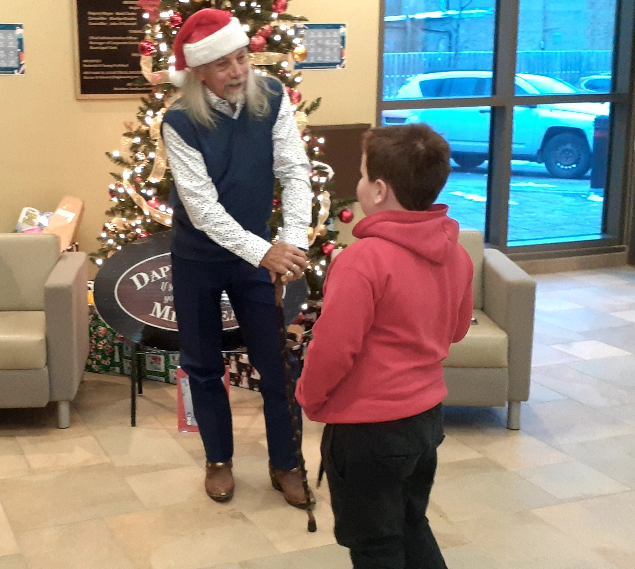 Dapper Depot's Very Fashionable Santa